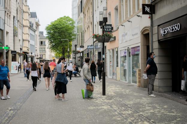 Les centres-villes se vident déjà depuis une semaine, selon différentes fédérations professionnelles luxembourgeoises, à cause des annonces du gouvernement. (Photo: Matic Zorman / Maison Moderne)
