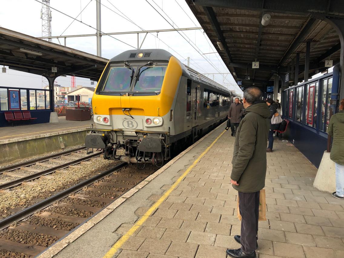 Le train vers Luxembourg gratuit depuis Arlon. Non, ce ne sera pas possible. (Photo: Paperjam)