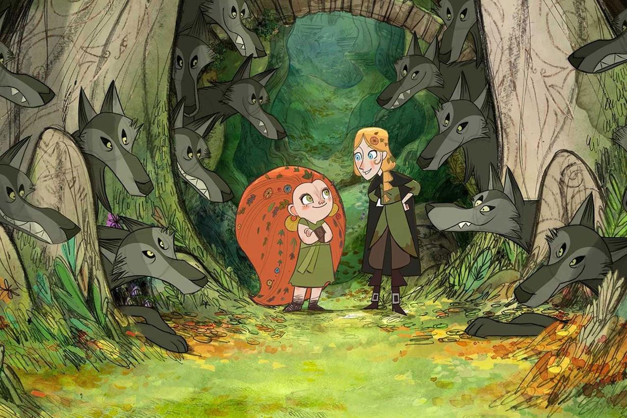 «Wolfwalkers», coproduit par MélusineProductions, n'a pas pu rivaliser contre le géant Pixar. (Photo: MélusineProductions)