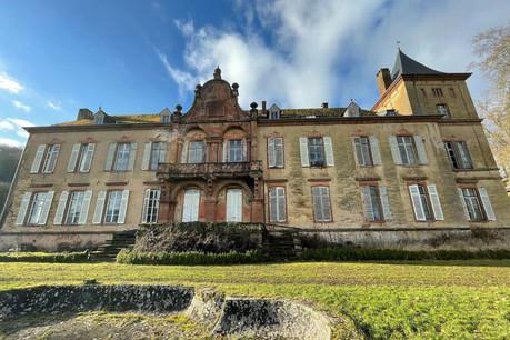 Le château et son domaine constituent un ensemble exceptionnel. Mais la demeure a besoin de travaux très importants. (Photo: Croix-Rouge luxembourgeoise)
