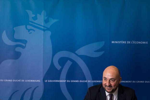 Le ministre de l'Économie avait été sommé par le CSV de présenter les MoU signés par le gouvernement, dont celui sur le projet Google et sur l'initiative Spaceresources.lu. (Photo : Nader Ghavami / archives / Maison Moderne)