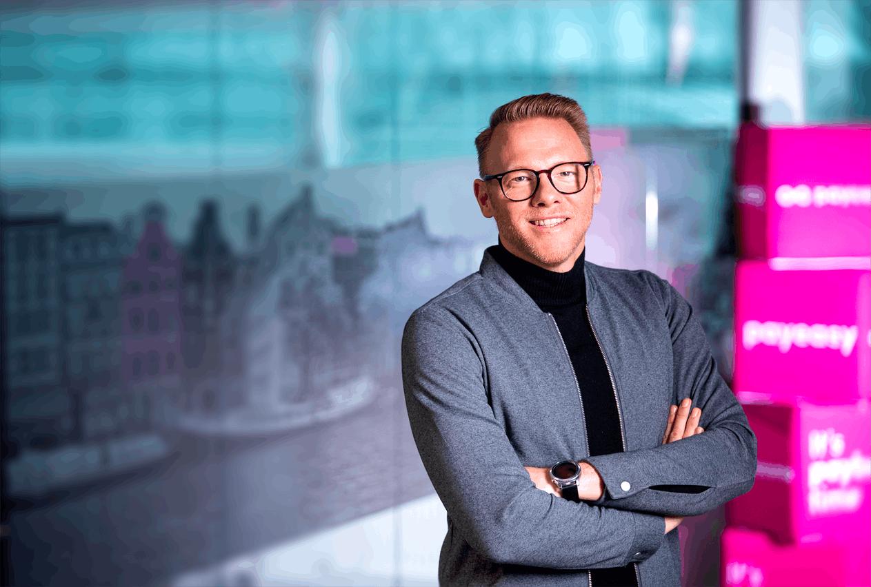 Payconiq et son CEO Guido Vermeent annoncent une interopérabilité des deux marques Digicash et Payconiq dans le Benelux. (Photo: Payconiq)