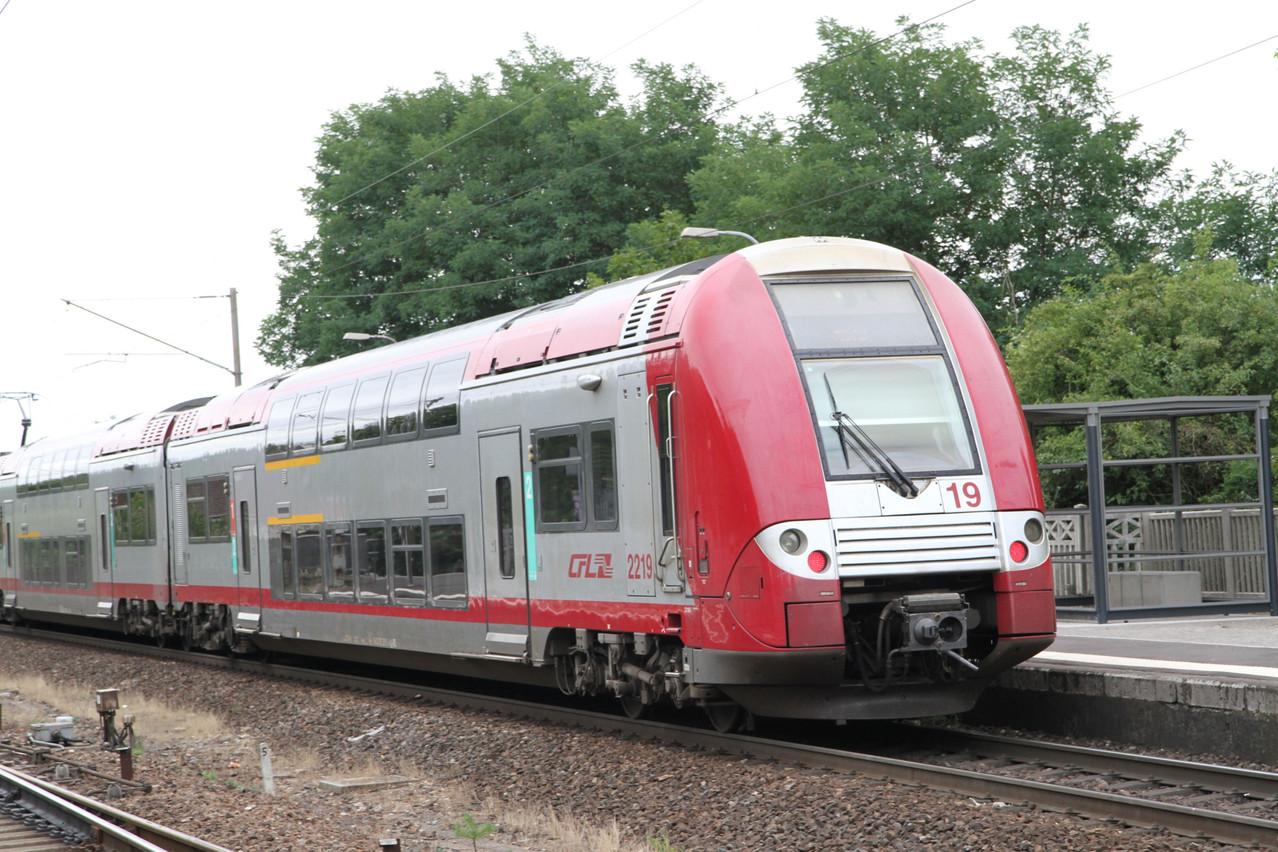 Les trains feront place à des bus de substitution pendant la durée des différents chantiers. (Photo: Frédéric Antzorn / archives Maison Moderne)