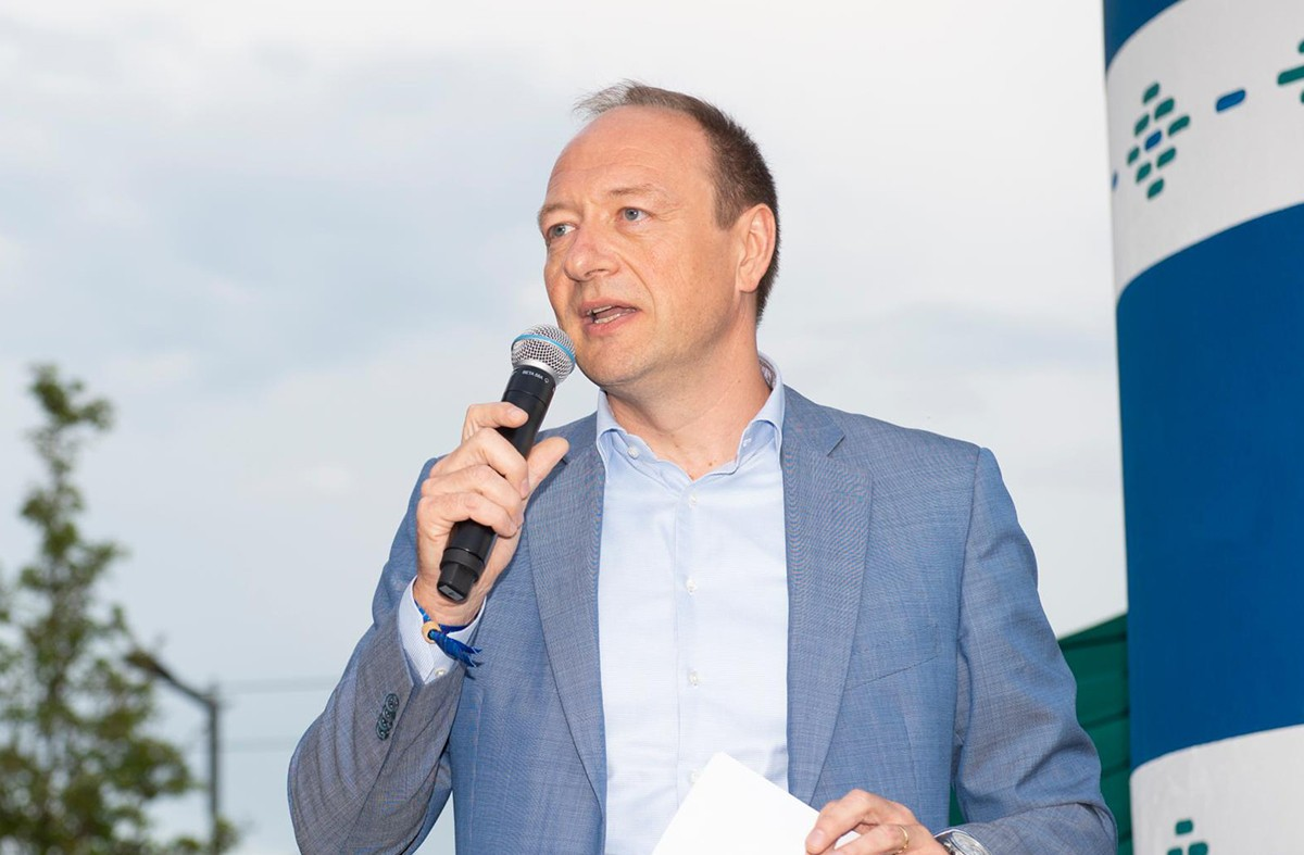 Pascal Denis, a frequent speaker at conferences and specialist in the technology and fintech sectors. (Photo: Anthony Dehez)