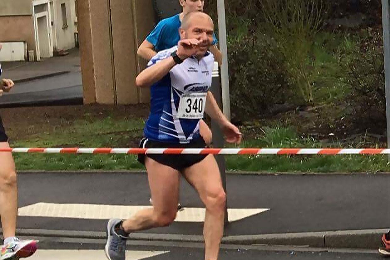 Pascal Driant reste passionné par la course à pied, qu'il a pu pratiquer un peu partout dans le monde. (Photo: DR)