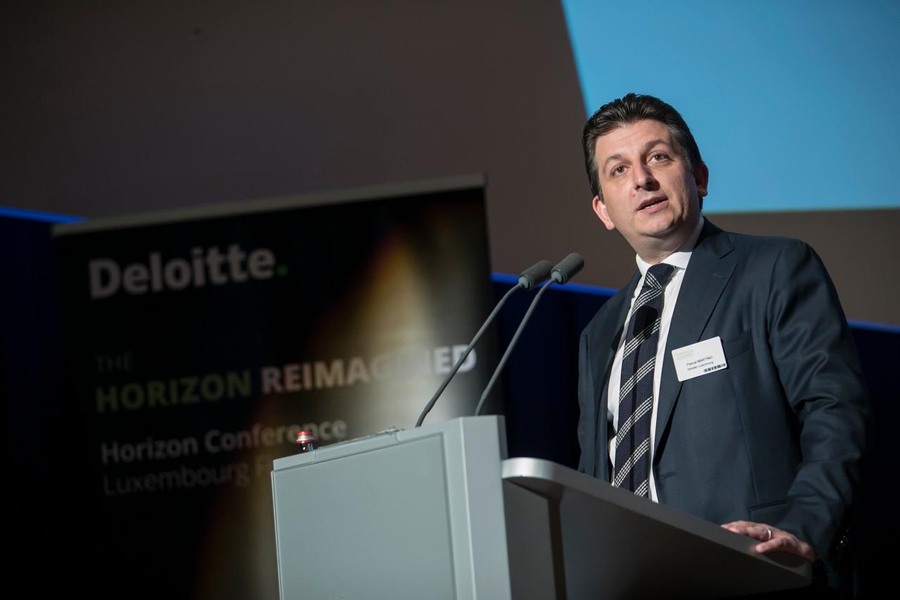 Pascal Martino insiste: la conférence Horizon s'adresse à tous les acteurs de la place financière, pas seulement à Deloitte. (Photo: Blitz Agency 2018)