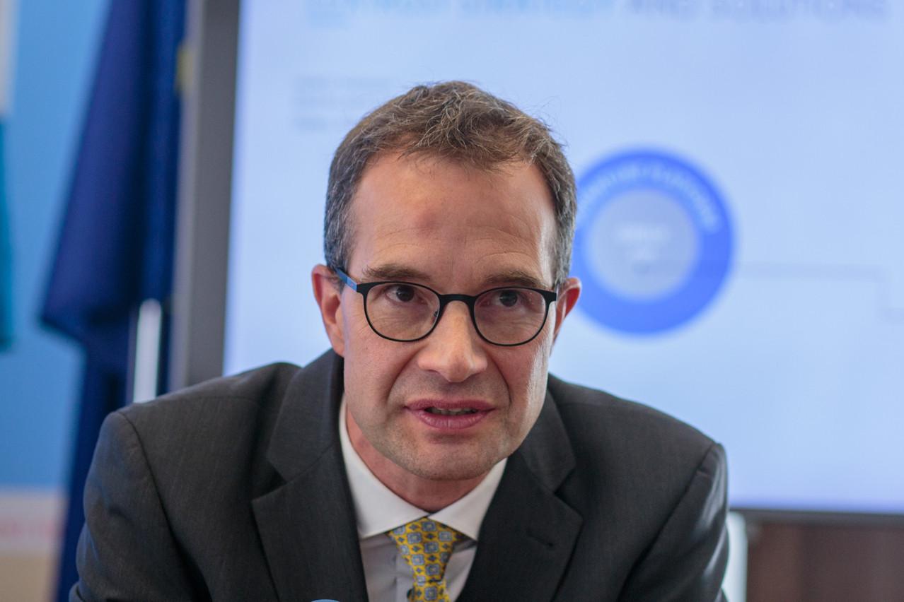 Pascal Rogiest revient dans son domaine de formation avec une compétence supplémentaire sur la cybersécurité. (Photo : Matic Zorman/archives Maison Moderne)