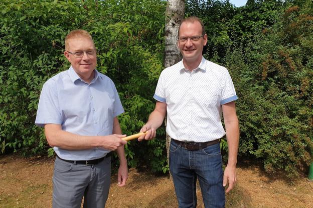 Peter Hengel (à droite) succédera à Serge Pommerell le 1er septembre prochain à la direction des Auberges de jeunesse luxembourgeoises. (Photo: Auberges de jeunesse luxembourgeoises asbl)