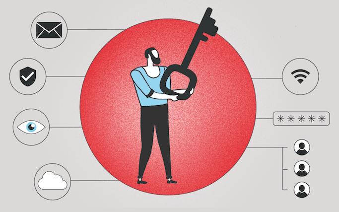 Passbolt propose un coffre-fort numérique qui répond aux problèmes de gestion et de sécurisation des mots de passe et autres codes d'accès rencontrés par les entreprises. (Illustration: Ellen Withersová)