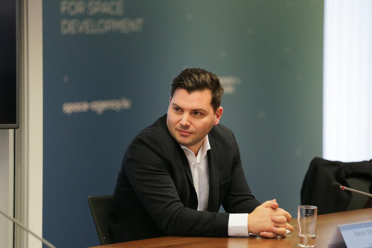 KevinMuller a su convaincre. Le CEO de Passbolt, qui avait annoncé une levée de fonds de 1,1million d'euros fin octobre, la clôture à 2millions d'euros. (Photo: Romain Gamba / Maison Moderne)