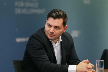 Ancien lauréat du Fit4Start devenu jury de la nouvelle promotion, KevinMuller a annoncé une levée de fonds de 1,1million d'euros pour Passbolt, qui avait besoin de recruter. (Photo: Romain Gamba)