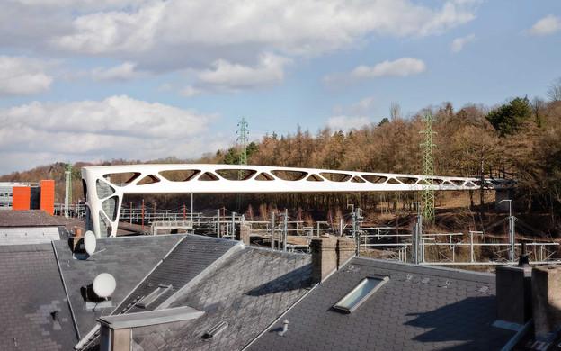 La passerelle à Esch-sur-Alzette réalisée par Metaform a été récompensé par Archdaily. (Photo: Metaform)