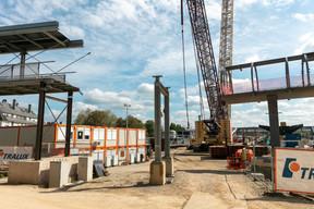 La partie entre Bonnevoie et le futur quai 6 appartient à la Ville de Luxembourg et «n'est pas concernée par les travaux» selon les CFL. ((Photo: Romain Gamba/Maison Moderne))