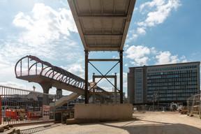 Les CFL ne précisent pas le budget de la seule passerelle, englobé dans celui de 171millions d'euros pour le projet d'extension de la gare de Luxembourg. ((Photo: Romain Gamba/Maison Moderne))