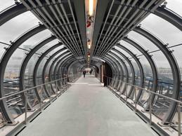 Plus spacieuse et plus moderne, la passerelle est aussi plus lumineuse. ((Photo: Paperjam))