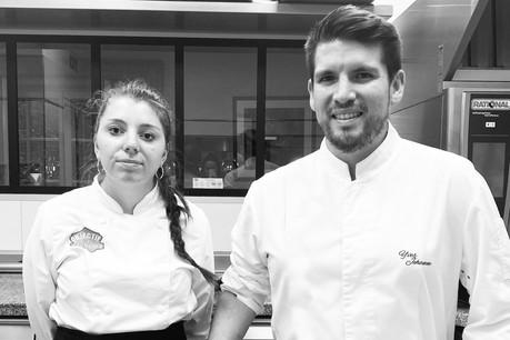 Emma Schmidt travaille en collaboration avec le consultant Yves Jehanne pour la création des desserts des Jardins d'Anaïs. (Photo: Les Jardins d'Anaïs)