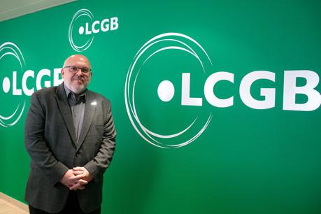PatrickDury et le LCGB mettront la justice sociale au cœur des revendications à venir. (Photo: Matic Zorman/Maison Moderne)
