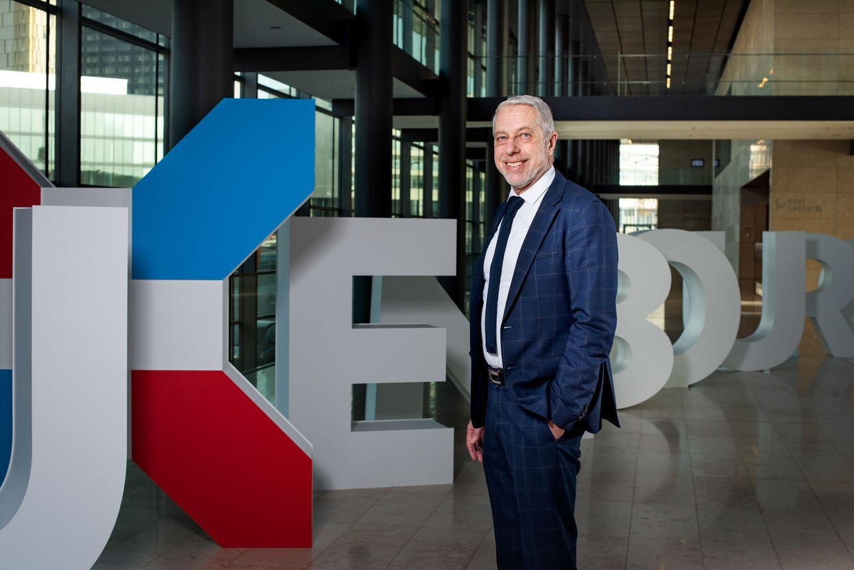 Patrick Hoffnung is the general manager of the ECCL Photo: Nader Ghavami