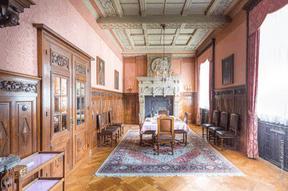 La salle à manger du château de Beaufort a retrouvé sa splendeur. ((Photo: Bohumil Kostohryz))