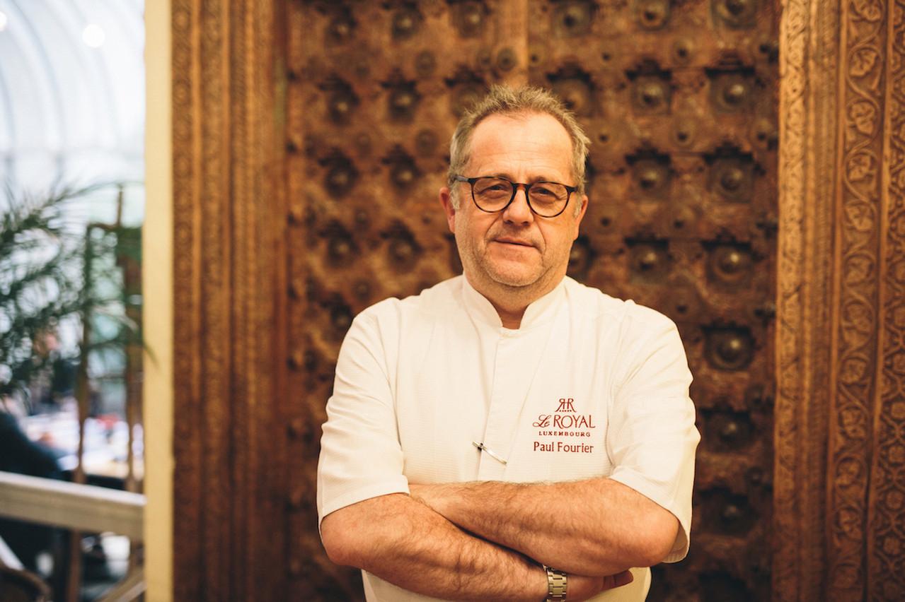 À La Pomme Cannelle, restaurant gastronomique de l'hôtel Le Royal, Paul Fourier veille au grain... (Photo: Happy Dayz - Caroline Lequeux)
