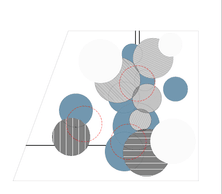 Plan masse du projet de BeBunch-Ney & Partners-Laura Mannelli. ((Illustration :BeBunch-Ney & Partners-Laura Mannelli))