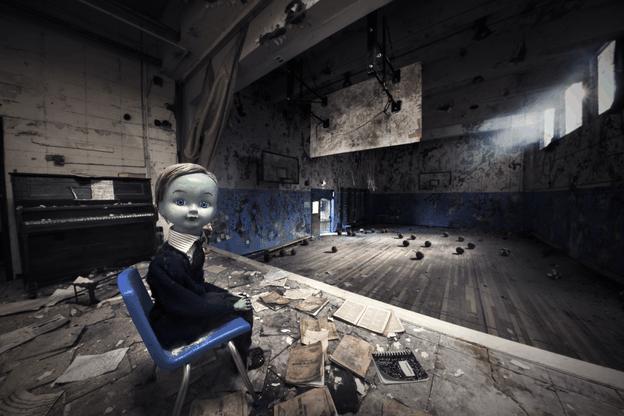 L'œuvre VR «Gymnasia», coproduite par Felix & PaulStudios, est présentée dans le pavillon VR à Neimënster. (Illustration: Felix & Paul Studios)