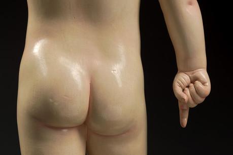 Au 17 e  siècle, la sculpture espagnole revêt un caractère hyper réaliste. (Photo: D.Provost)