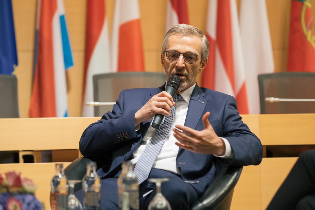 Gérard Zoller, CEO de Peintures Robin, a fait offre de service au ministère de la Santé le jour même où les entreprises non essentielles ont été mises à l'arrêt. (Photo: SG9LU/archives)