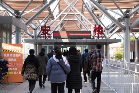 La vie reprend doucement à Pékin, mais les mesures de sécurité restent de mise par crainte d'une seconde vague. (Shutterstock)