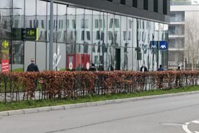 Le Carrefour Express est ouvert tous les jours. ((Photo: Matic Zorman))