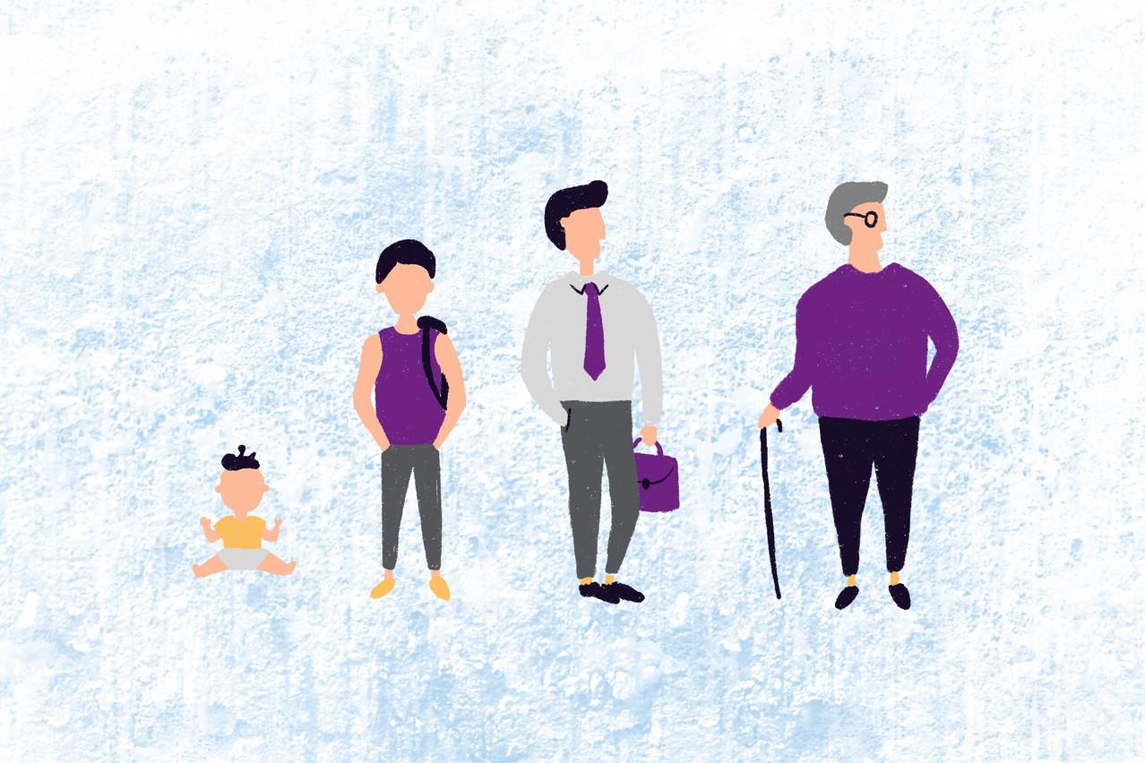 «Avec l'augmentation de l'espérance de vie, les cotisations que nous percevons pendant la durée de notre pension sont deux fois plus élevées que ce que nous donnons pendant notre vie active. » (Illustration: Maison Moderne)