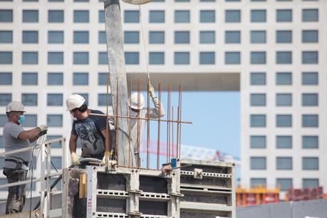 La pénurie de matériaux pourrait mettre des chantiers à l'arrêt au Luxembourg si les stocks ne se remplissent pas. (Photo: Matic Zorman/Maison Moderne)