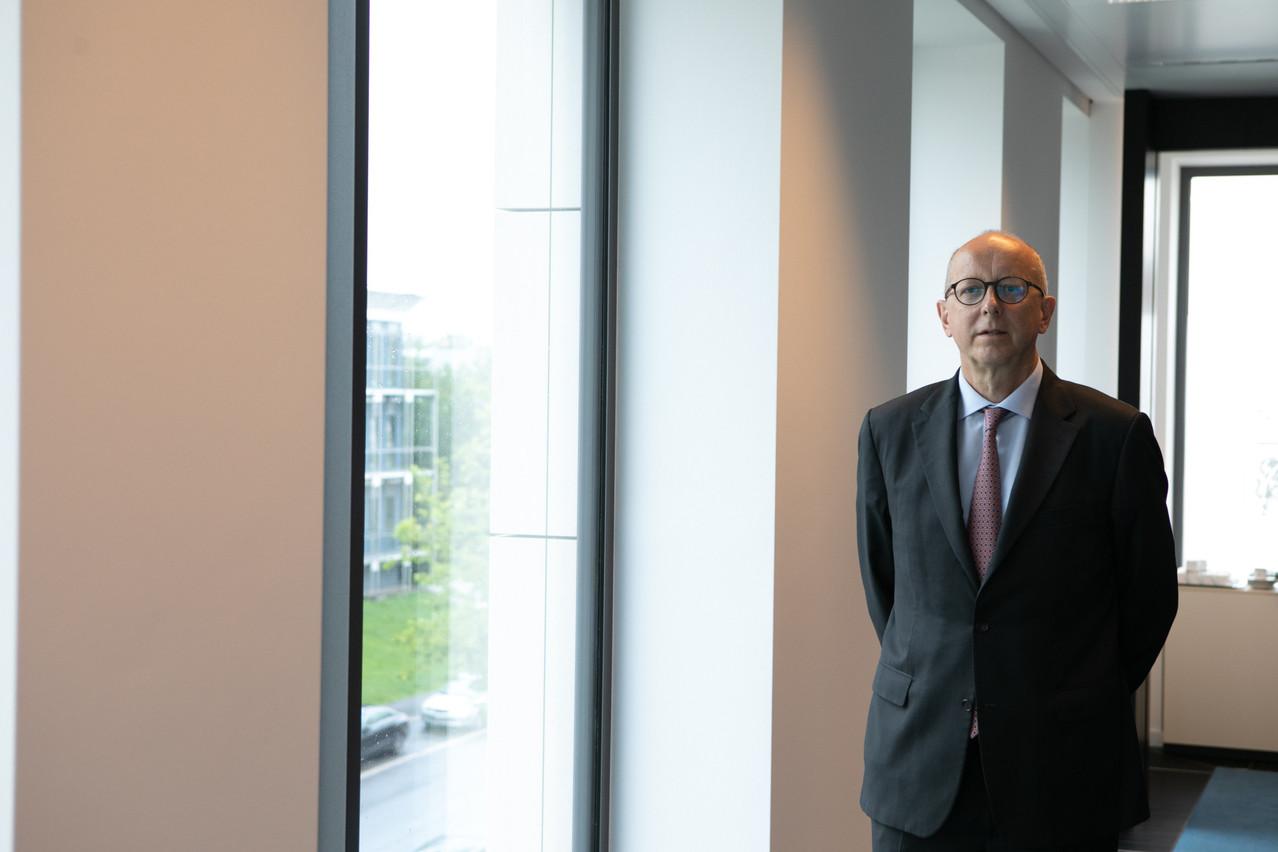 La pandémie a suscité chez les clients des banquiers privés un besoin accru de conseil sur lequel FrançoisPauly compte bien surfer. (Photo: Matic Zorman/Maison Moderne)