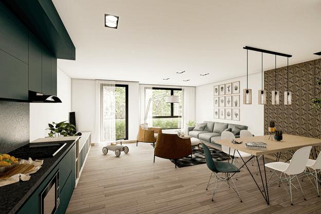 Perspective fournit des images aux architectes ou professionnels de l'immobilier pour donner un rendu réaliste aux projets. (Illustration: Perspective)