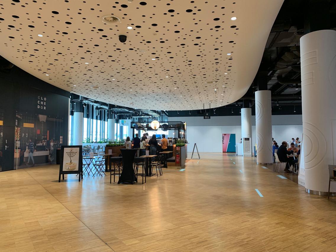 Le Food Hall de la Cloche d'Or devrait accueillir la semaine prochaine une enseigne de poke bowls. (Photo: Maison Moderne)