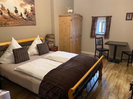 Une autre version des chambres pour deux personnes. Les deux autres chambres permettent d'accueillir une famille de quatre personnes avec deux lits pour les enfants. ((Photo: Paperjam))