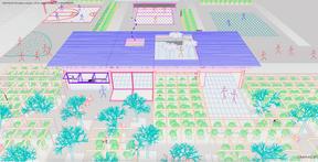 Une terrasse pourra être aménagée sur le toit. ((Illustration: Petite Maison))
