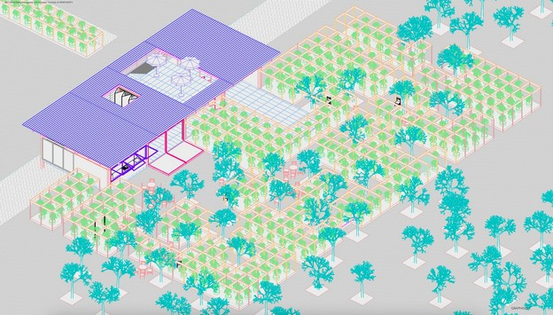 Petite Maison est un projet qui sera présenté à l'occasion d'Esch2022. (Illustration: Petite Maison)