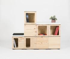 De petits cubes pour de grandes idées : Pixel by BENE (BENE)
