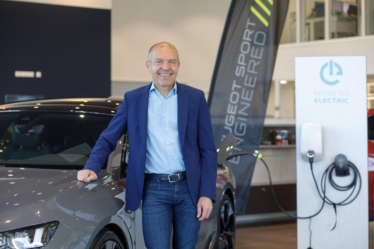 Pascal Driant,directeur de Car Avenue Luxembourg, revient sur les chiffres du marché automobile du premier trimestre. (Photo: Matic Zorman/Maison Moderne)