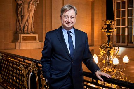 Le maire de Metz, François Grosdidier, veut plus de collaborations que de rétrocessions avec le Luxembourg. (Photo: Andrés Lejona / Maison Moderne)