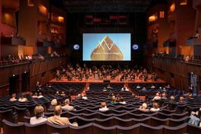 Un concert spécial a été donné le 25 juin par l'Orchestre philharmonique du Luxembourg (OPL), sous la direction de Gustavo Gimeno. ((Photo:Philharmonie Luxembourg / Alfonso Salgueiro))