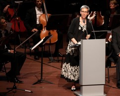 Un concert spécial a été donné pour les 25 ans de la Philharmonie, en présence de Sam Tanson (Déi Gréng), ministre de la Culture. ((Photo:Philharmonie Luxembourg / Alfonso Salgueiro))