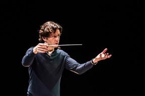 La réputation de Gustavo Gimeno à l'international n'est plus à faire. Il prendra en 2020 la direction du Toronto Symphony Orchestra, en plus de celle de l'OPL dont il s'occupe depuis 2015. ((Photo: Anthony Dehez/Archives))