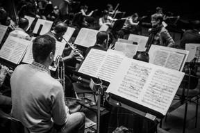 Les répétitions sont l'occasion d'apporter les derniers ajustements à la partition du soir et aux intentions, quelques heures à peine avant la performance. ((Photo: Anthony Dehez/Archives))