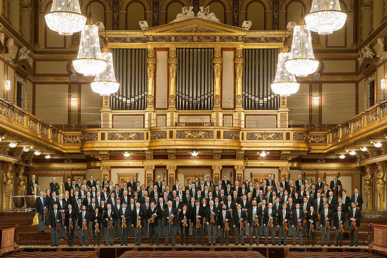 L'Orchestre philharmonique de Vienne ouvrira la saison2021-2022 à la Philharmonie. (Photo: Lois Lammerhuber/Edition Lammerhuber)