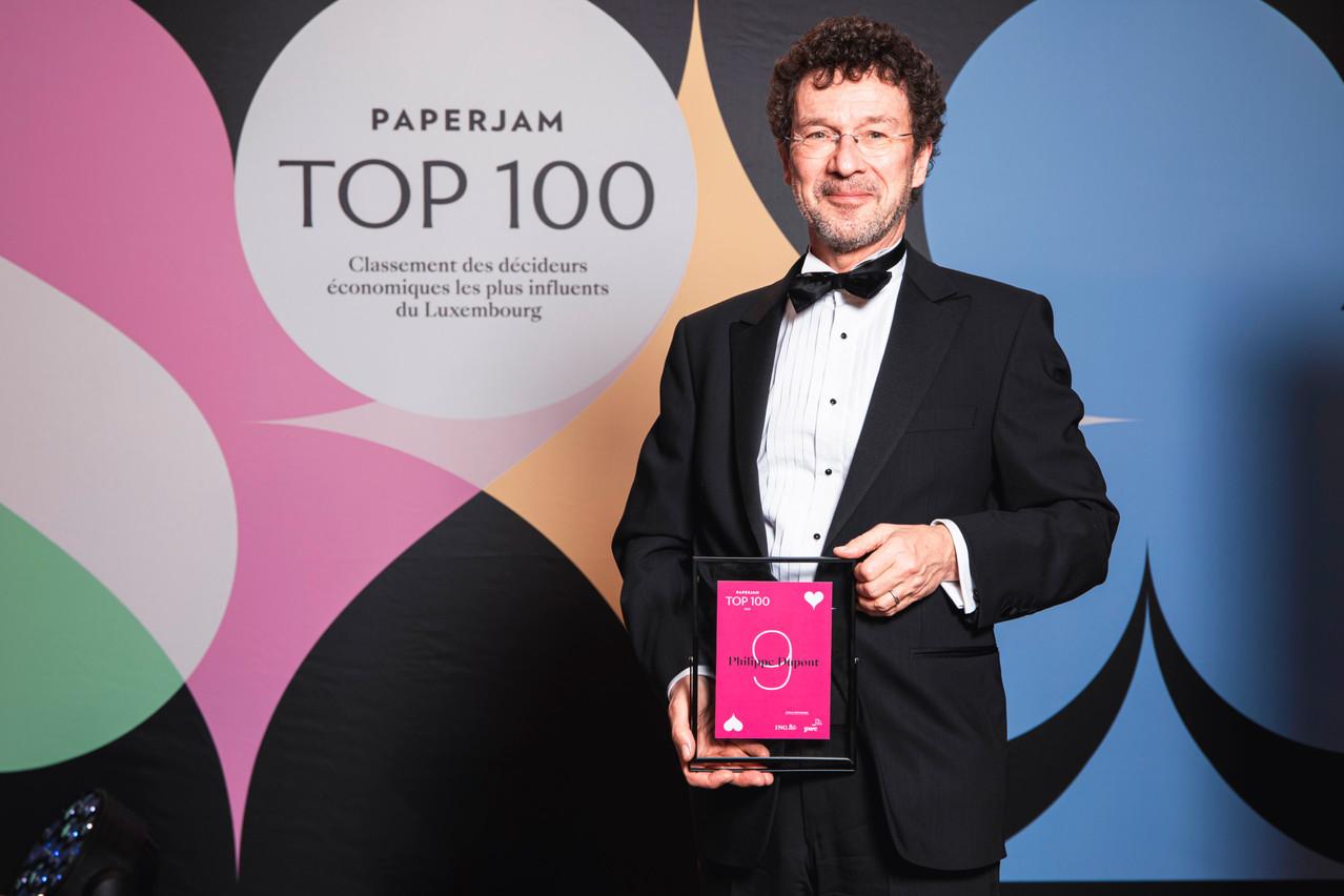 Philippe Dupont, founding partner et chairman d'Arendt & Medernach, a vu dans son classement la récompense d'un travail collectif. (Photo: Julian Pierrot/Maison Moderne Publishing SA)
