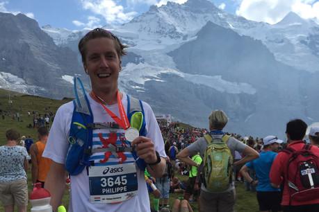 Philippe Heisbourg est passionné de montagnes et de course à pied. Pas étonnant donc de le retrouver au marathon de Zermatt, dans les Alpes suisses. (Photo: DR)