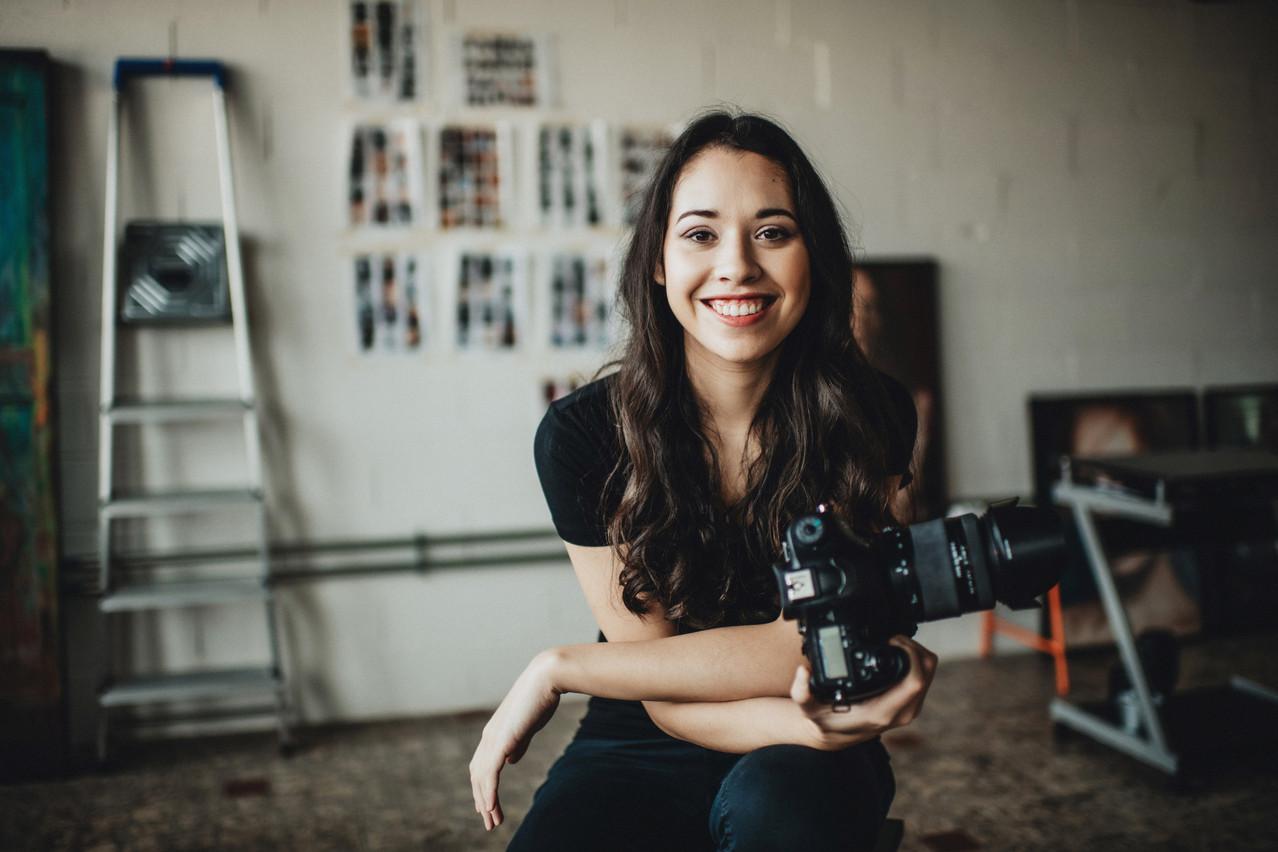 Lynn Theisen,photographe indépendante et membre de l'association Jonk Handwierk. (Photo: Véronique Kolber)