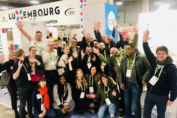 Les 16 start-up qui font partie du Luxembourg Village au CES 2019 de Las Vegas sont prêtes. (Photo: Luxfactory)